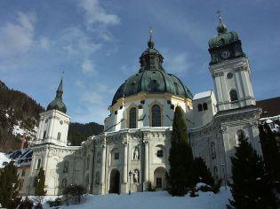 Zuccalli, Kloster Ettal