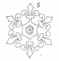 Rossetti snowflake detail