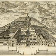 Venaria Reale in C. M. Audiberti, Regiae villae poetice descriptae (Getty Research Library / archive.org)