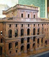 Castello di Rivoli, wooden model. Source: Wikimedia Commons / Sailko (CC BY-SA 3.0)