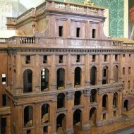 Castello di Rivoli, wooden model. Source: Wikimedia Commons / Sailko (CC BY-SA 3.0)