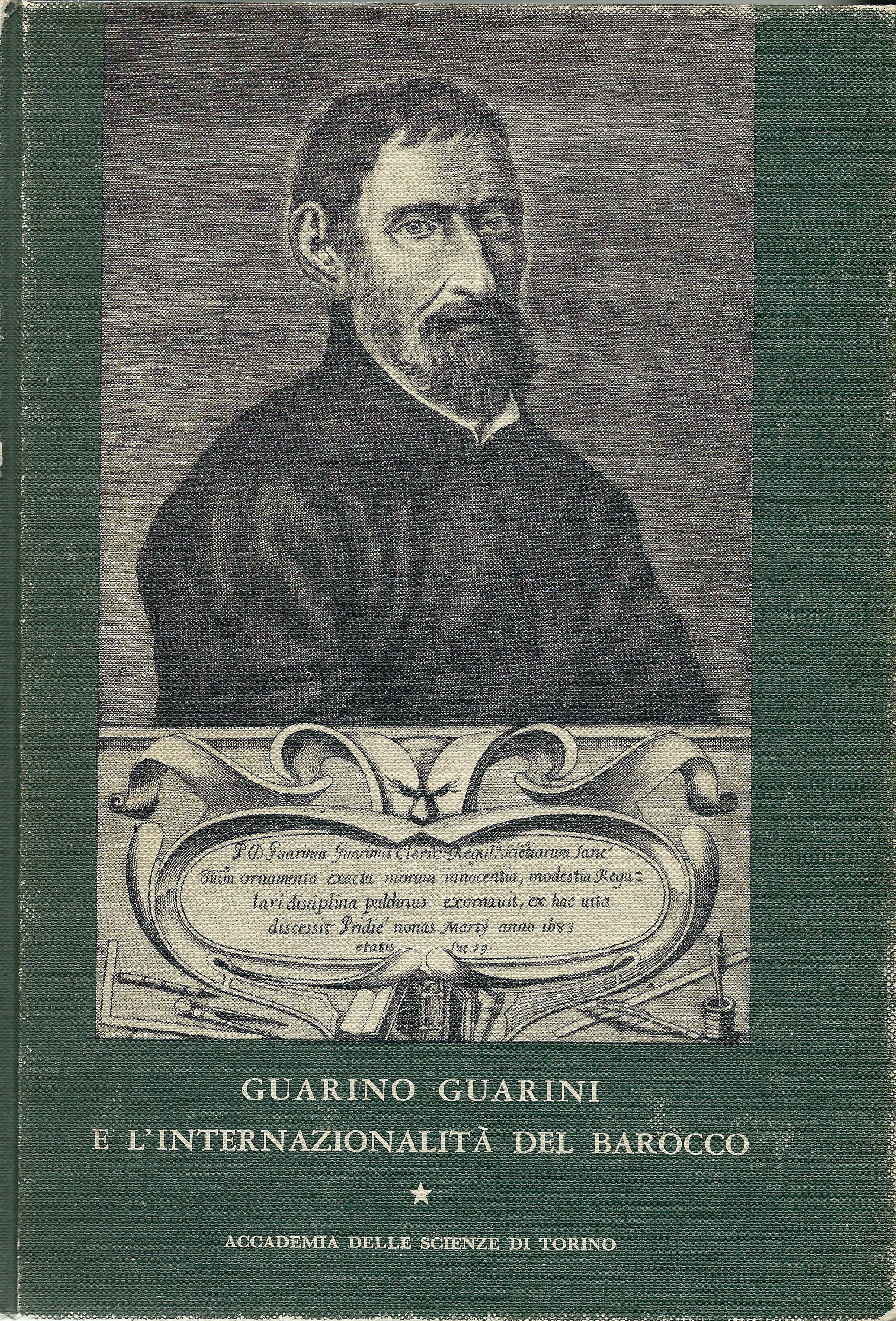 guarino guarini e l u2019internazionalit u00e0 del barocco  volume i