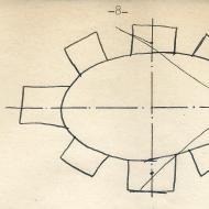 Eric Van Schaack, schematic plan, Santuario di Vicoforte | Courtesy Carol Van Schaack (CC BY-NC-SA 4.0)