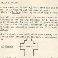 Eric Van Schaack, notes on Chiesa della Missione, Mondovì   Courtesy Carol Van Schaack (CC BY-NC-SA 4.0)