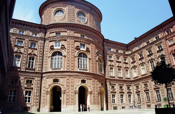 Palazzo Carignano courtyard