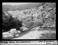Arzo, red stone quarry | Source: ETH-Bibliothek Zürich, Bildarchiv / Fotograf: Wehrli, Leo / Dia_247-10622 / CC BY-SA 4.0