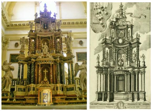 Verona altar collage