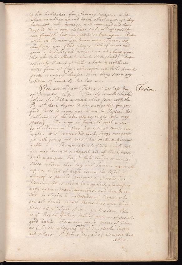 Northumberland Turin 1681 Beinecke