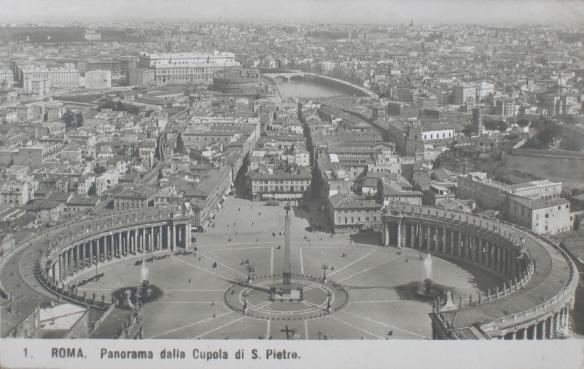 Roma, Panorama dalla Cupola di S. Pietro