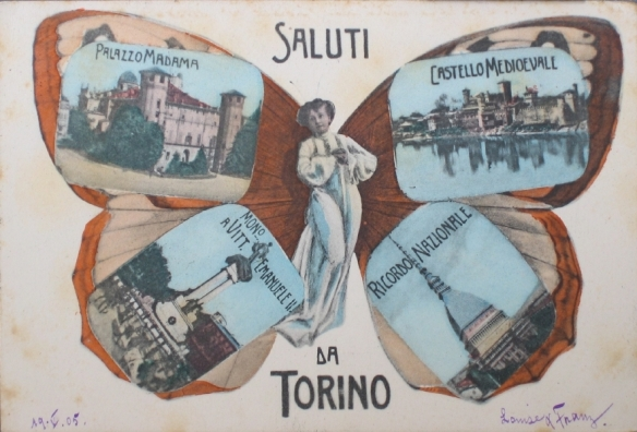 Torino, Palazzo Madama, Castello Medioevale, Mono. Vitt. Emanuele, II. Ricordo Nazionale