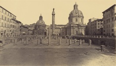 Robert Macpherson, Forum of Trajan, Rome, 1860s | Digital image courtesy of the Getty's Open Content Program