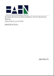 EAHN 2016 Abstracts