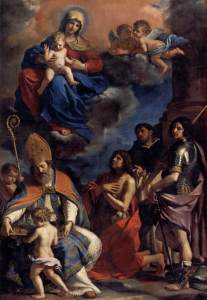 guercino_-_virgin_and_child_with_four_saints_-_wga10952