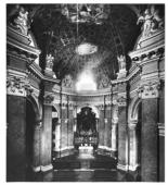 Guarino Guarini, Immacolata Concezione, Turin, view of nave   Source: Millon, Baroque & Rococo Architecture, plate 36. / public domain