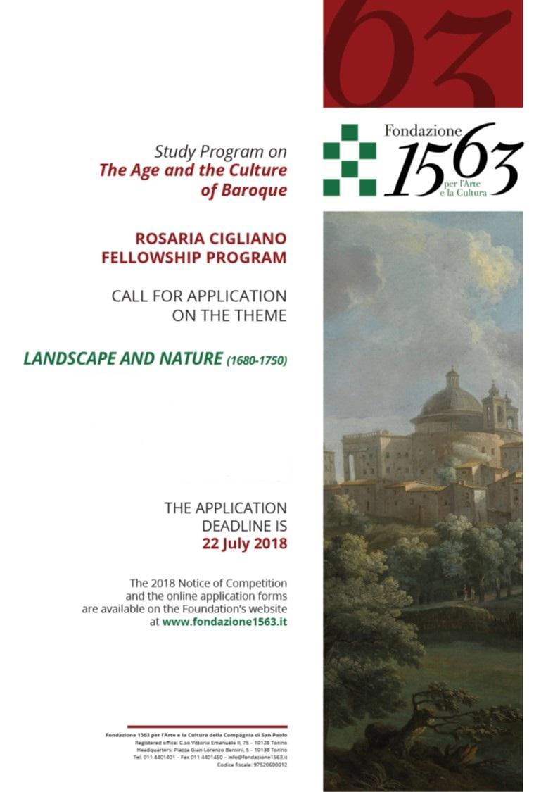 Fondazione 1563 website