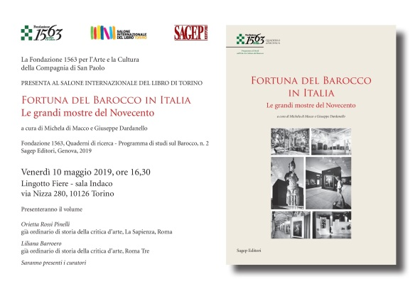 Fortuna del barocco book launch invitation