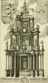 Guarino Guarini, high altar of San Nicolò, Verona, after 1675, published project from Dissegni d'architettura civile, et ecclesiastica (Turin, 1686), plate 22Source: Getty Research Library / Internet Archive / public domain